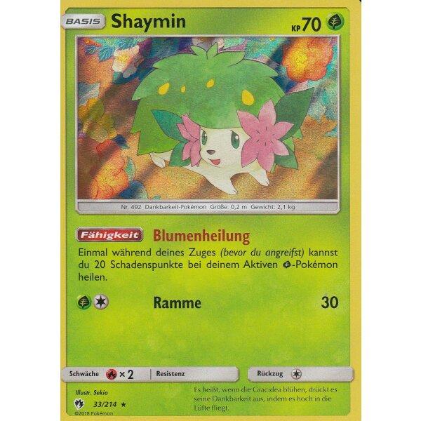 Shaymin Echo Des Donners 33//214 Holo Rare Pokemon! Near Mint DE!