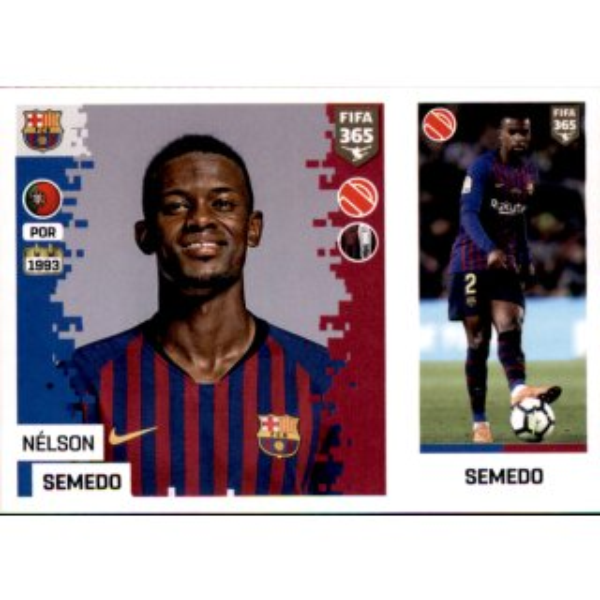 Panini FIFA365 2019 Sticker 183 a//b Borussia Dortmund Mahmoud Dahoud