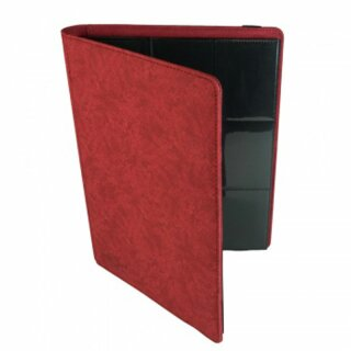Blackfire 9-Pocket Premium Album - Red