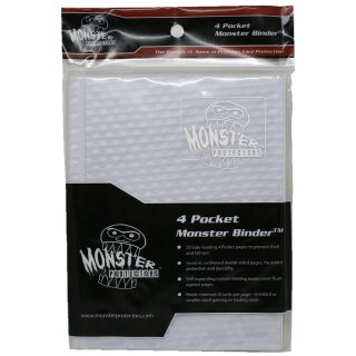 Monster Protectors - Monster Binder - DIN A5 White