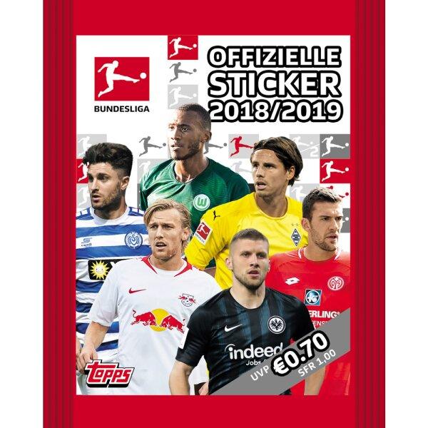 Topps Bundesliga Sammelsticker 2018//19-1 Multipack
