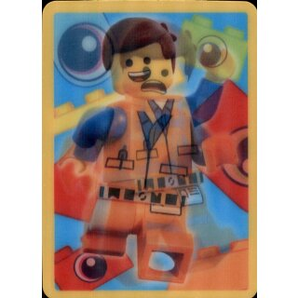Bonus Sticker 2-The Lego Movie 2-Blue Ocean