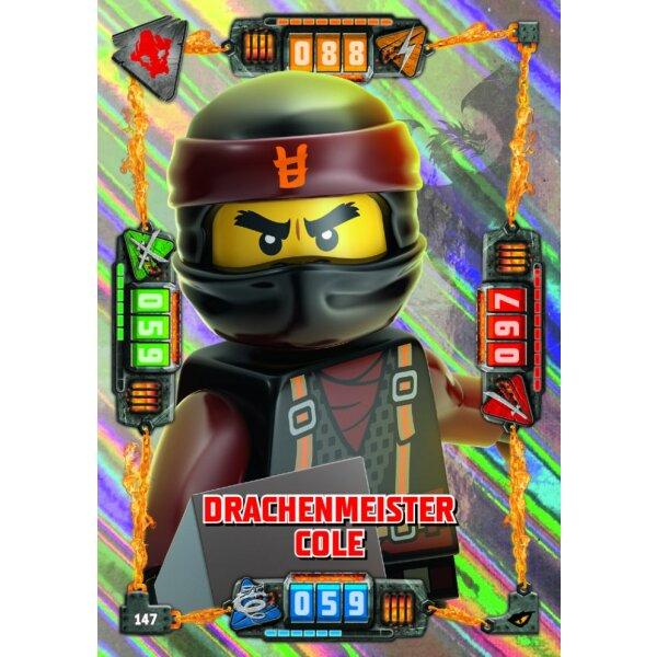 147 Drachenmeister Cole Lego Ninjago Serie 4