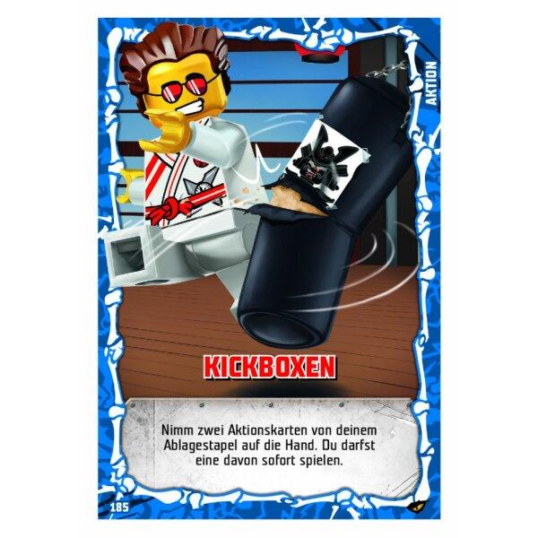 Wurfsterne des Eises 182 LEGO Ninjago SERIE 4 Aktionskarte