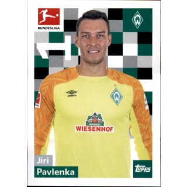 Claudio Pizarro TOPPS Bundesliga 2018//2019 Sticker 46