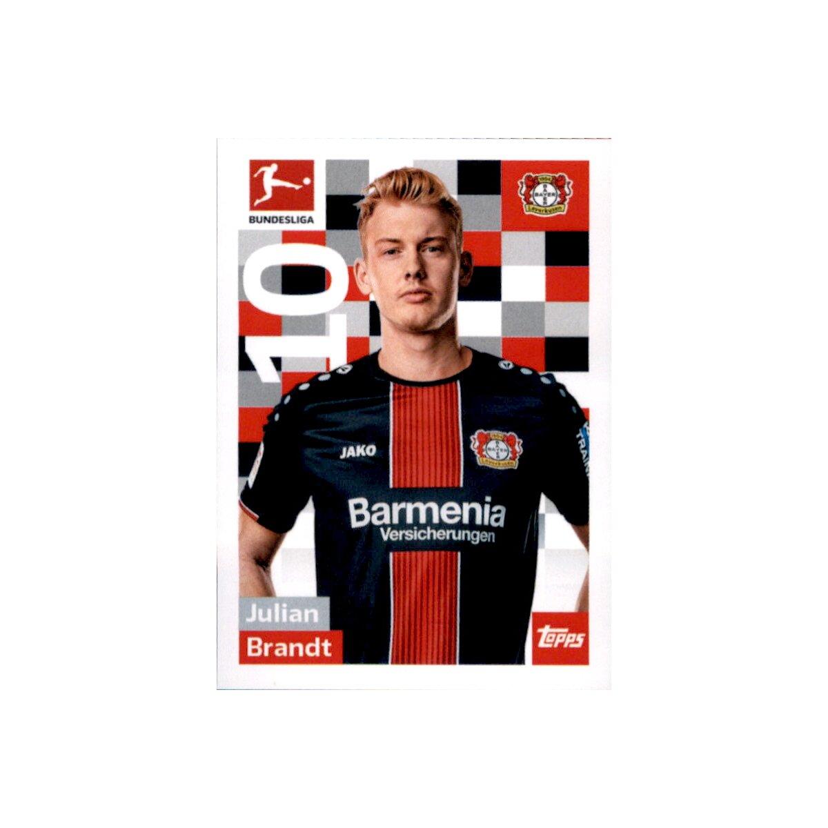 Sticker 183 TOPPS Bundesliga 2017//2018 Julian Brandt