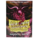 Dragon Shield Classic Sleeves - Megenta Red (60 Sleeves)