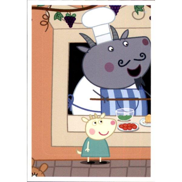 Panini Sticker 73 Peppa Pig Wutz auf Weltreise