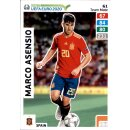 Karte 61 - Road to EURO EM 2020 - Marco Asensio - Team Mate