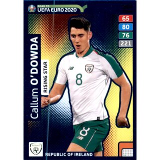 Karte 284 - Road to EURO EM 2020 - Callum Odowda - Rising Star