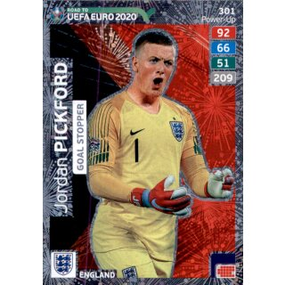 Karte 301 Road To Euro Em 2020 Jordan Pickford Goal Stopper