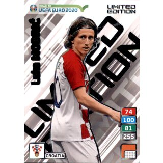 Karte Le11 Road To Euro Em 2020 Luka Modric Limited Edition