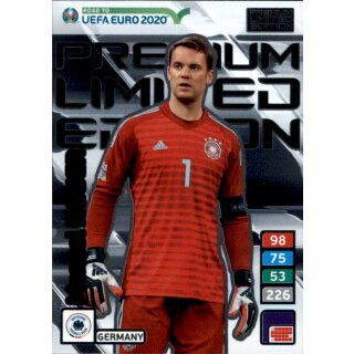 Karte Le28 Road To Euro Em 2020 Manuel Neuer Limited Edition
