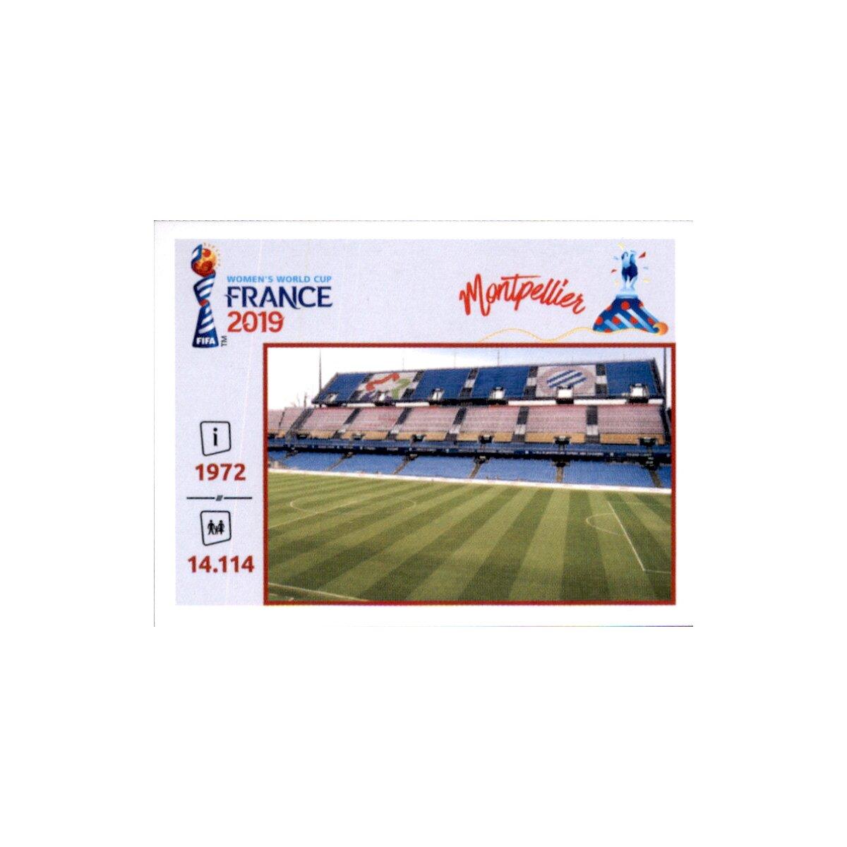 Orte und Stadien Panini Frauen WM 2019 Sticker 23 Stade du Hainaut