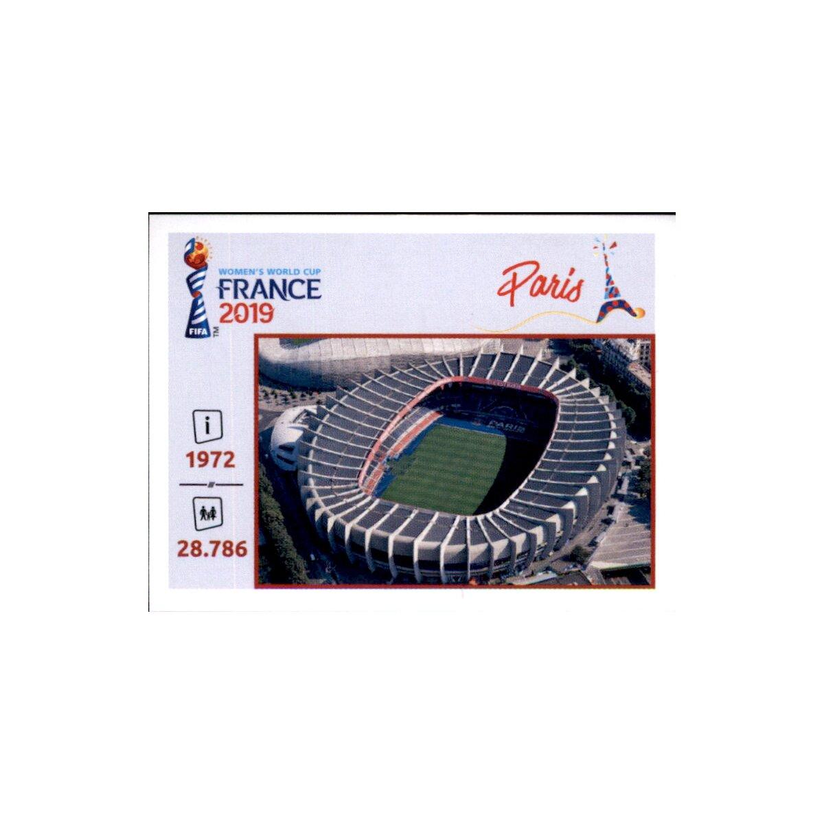 Valenenciennes Panini Frauen WM 2019 Sticker 22 Orte und Stadien