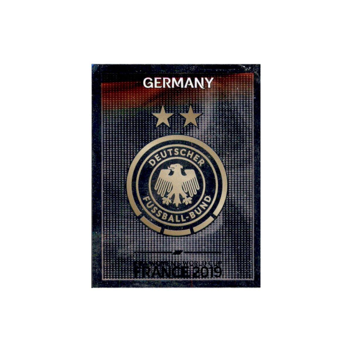 Deutschland Panini Frauen WM 2019 Sticker 100 Wappen