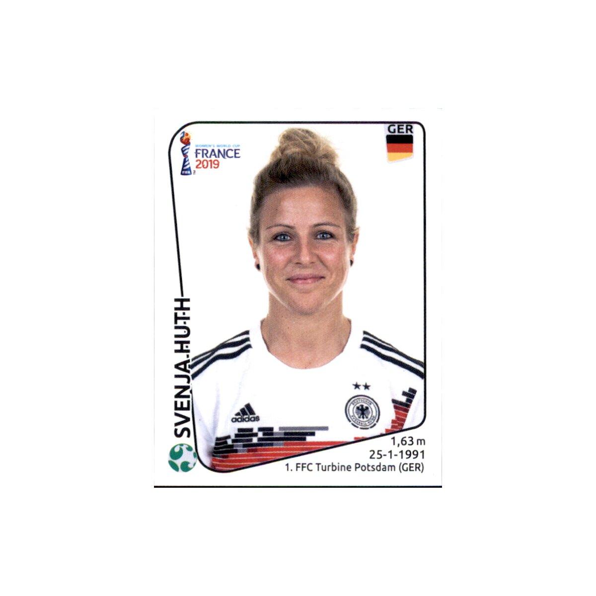 Deutschland Panini Frauen WM 2019 Sticker 102 Almuth Schult