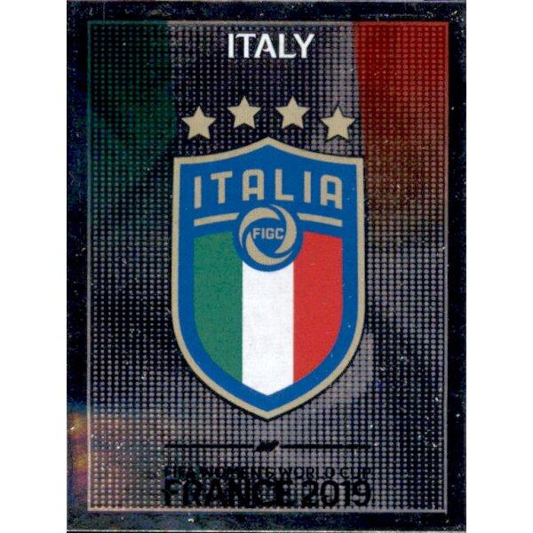 Italien Wappen Panini Frauen WM 2019 Sticker 195