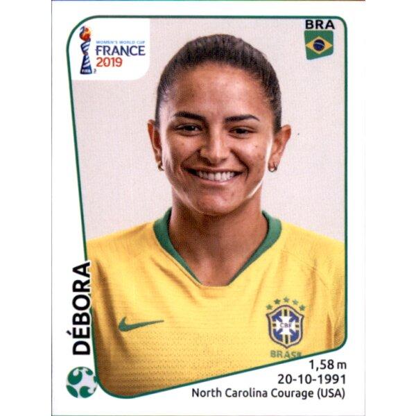Adriana Panini Frauen WM 2019 Sticker 231 Brasilien