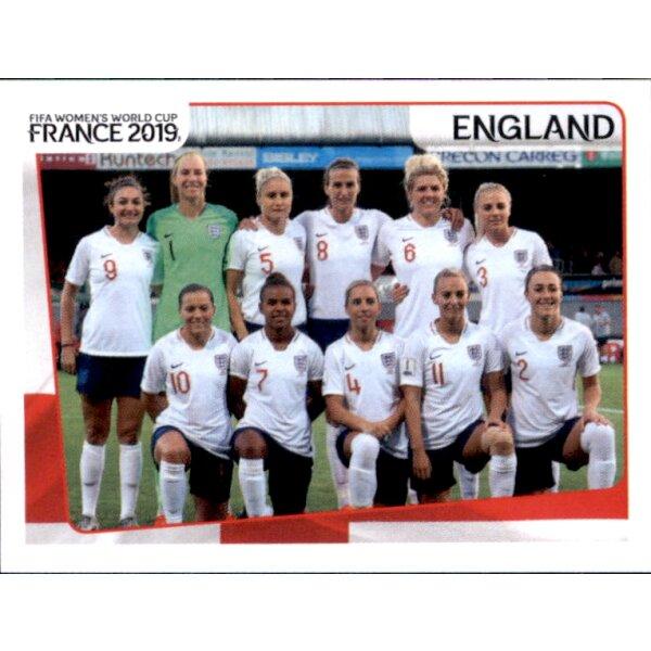 Jill Scott England Panini Frauen WM 2019 Sticker 261