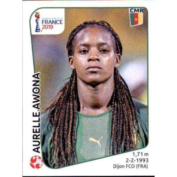 Jeanette Yango Panini Frauen WM 2019 Sticker 357 Kamerun