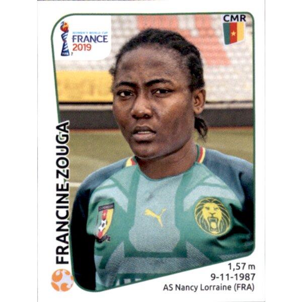 Kamerun Panini Frauen WM 2019 Sticker 355 Charlene Meyong