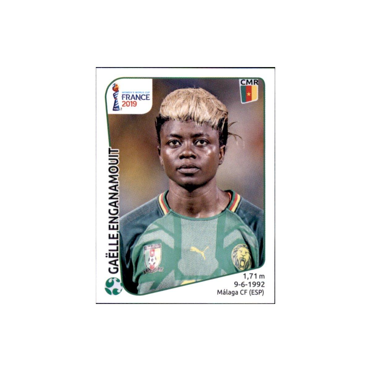 Raissa Feudjio Kamerun Panini Frauen WM 2019 Sticker 354