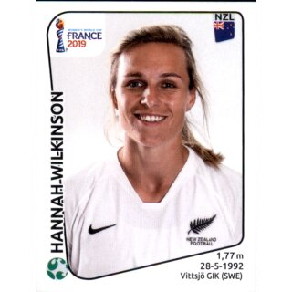 Niederlande Panini Frauen WM 2019 Sticker 401 Shanice van de Sanden