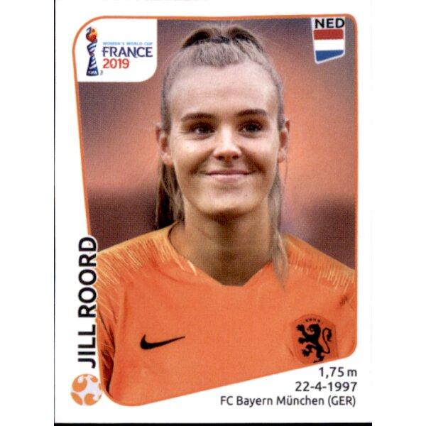 Niederlande Lieke Martens Panini Frauen WM 2019 Sticker 399