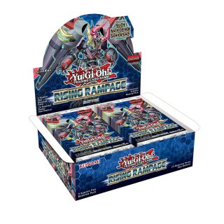 YuGiOh - Rising Rampage - 1 Display - Deutsch - 1. Auflage