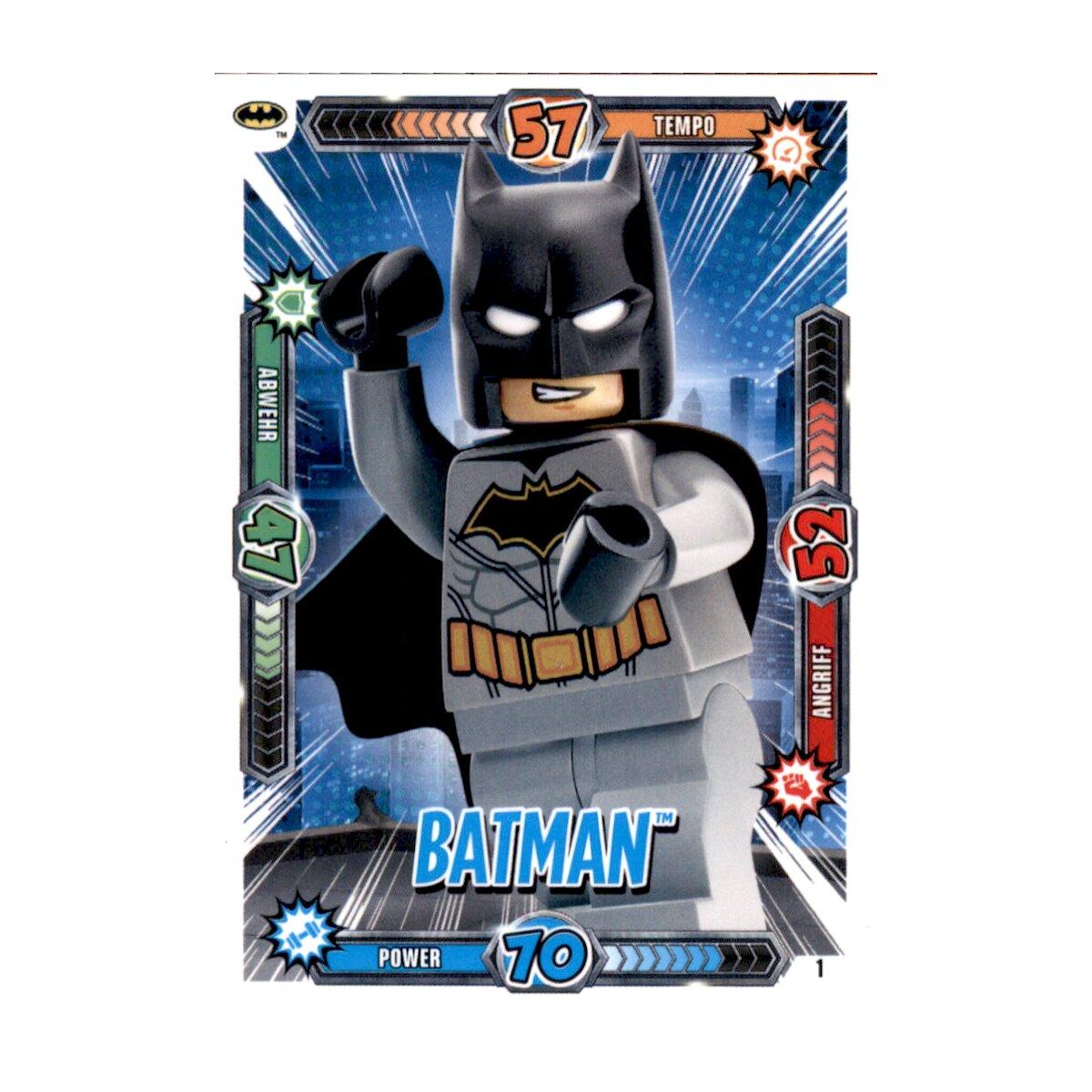 Lego BATMAN MOVIE CARDS no LE1-Batman-Limited Edition