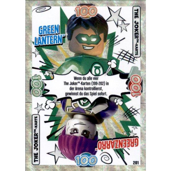 199 The Joker Karte Batman // Batzarro LEGO Batman Movie Karten Nr