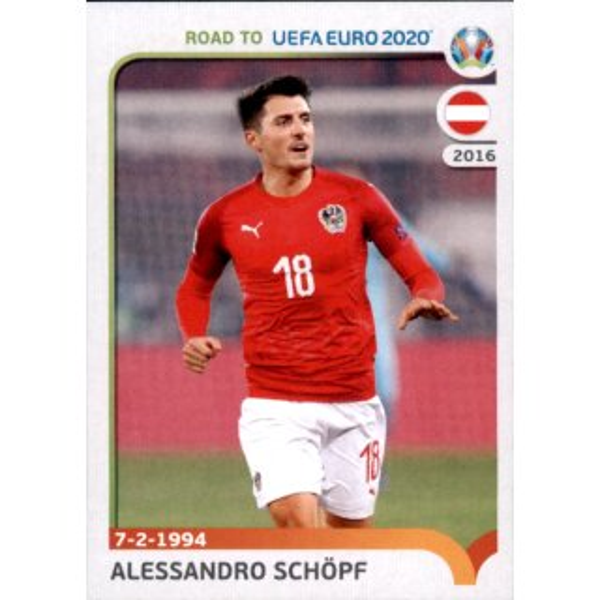 Martin Hinteregger Road to EM 2020 Österreich Sticker 5