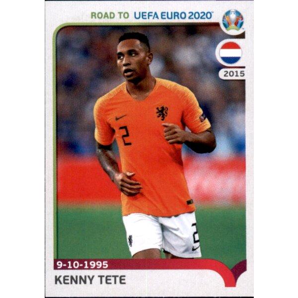 Road to EM 2020 Niederlande Sticker 189 Tonny Vilhena