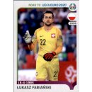 Road to EM 2020 - Sticker 211 - Lukasz Fabianski - Polen