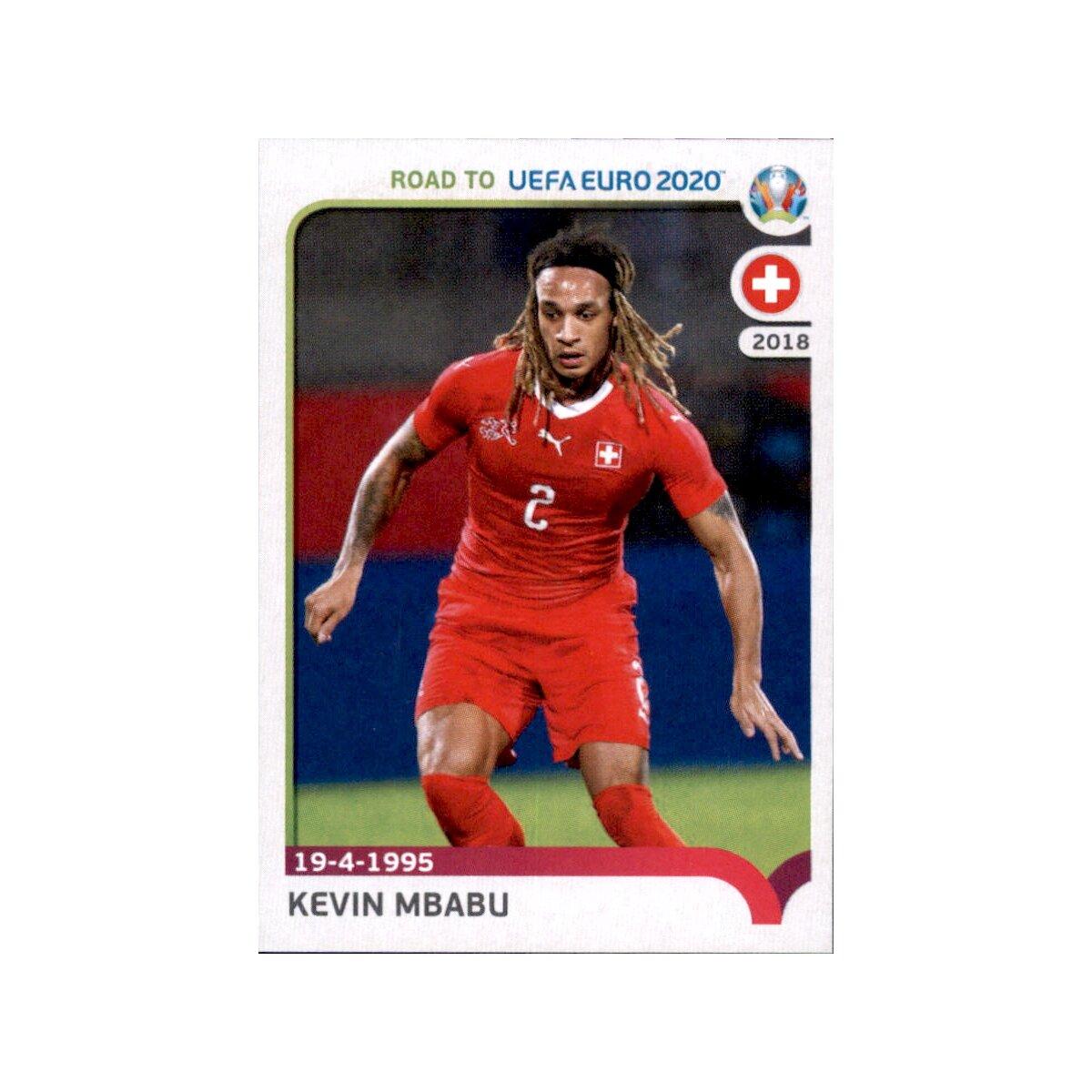 Road to EM 2020 Schweiz Sticker 395 Xherdan Shaqiri