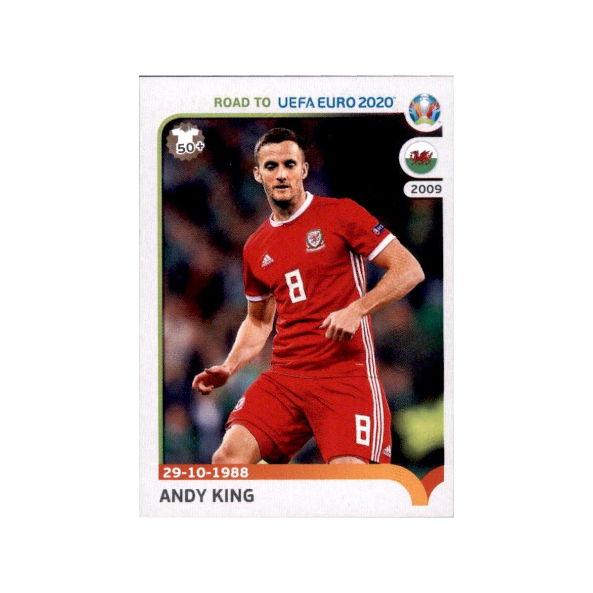 Sticker 434 Gareth Bale Road to EM 2020 Wales