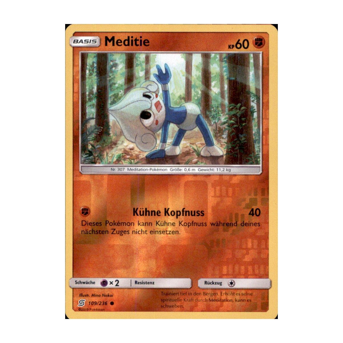 Pokemon 115//236 Bund der Gleichgesinnten Riolu Reverse Holo