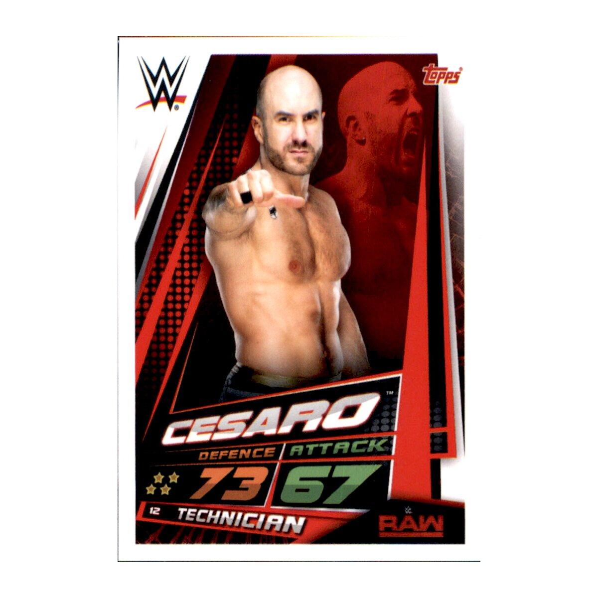 Wwe Slam Attax 12 Universe carte 4-Baron Corbin-Raw