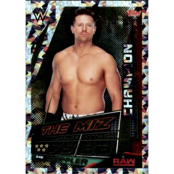 Gold Limited Edition Universe Karte LETA WWE Slam Attax Daniel Bryan