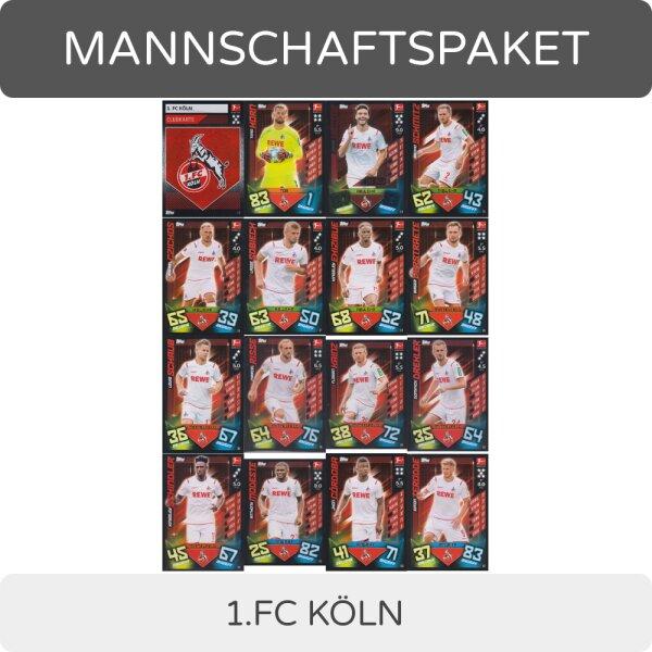 FC Köln 1 Match Attax 19//20 19 20 Mannschaftspaket