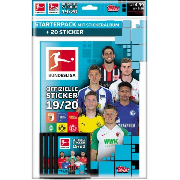 Topps Bundesliga Sammelsticker 2019//20-1 Tüte