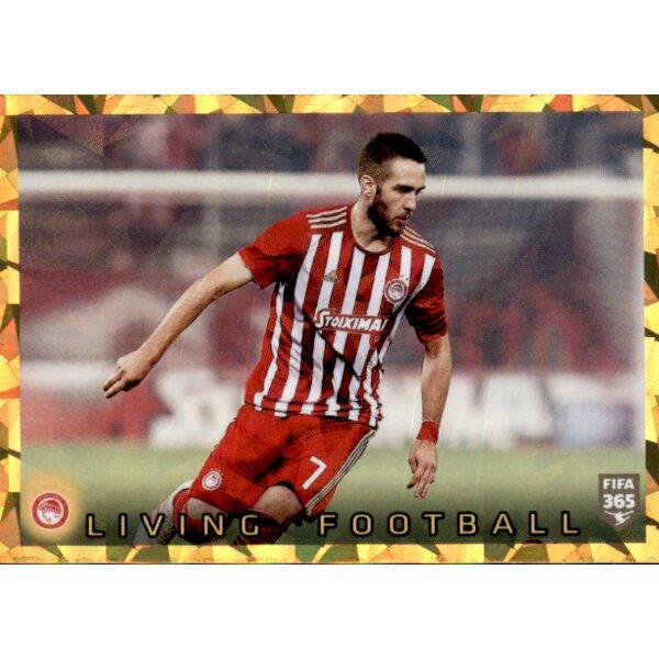 Panini Fifa 365 2020 Sticker 218 Olympiacos FC Living Football