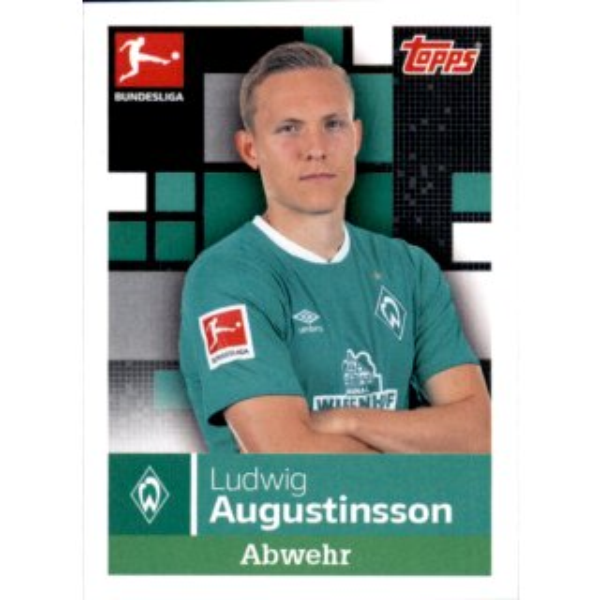 TOPPS Bundesliga 2019//2020 Grischa Prömel Sticker 42