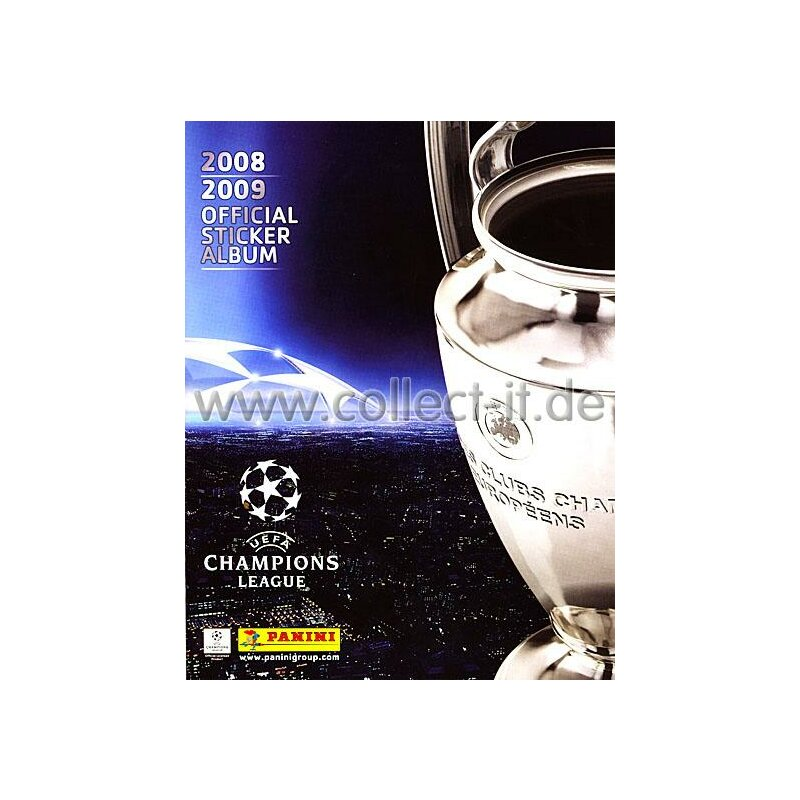 Panini Champions League 2008-2009 Stickeralbum