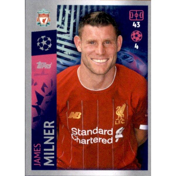 FC Liverpool Champions League 19 20 2019 2020 Sticker 280 James Milner