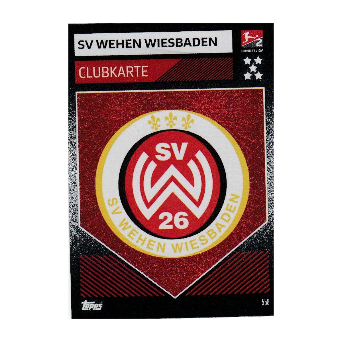 Match Attax Action 19//20 2019 20202-558 SV contractions Wiesbaden Carte
