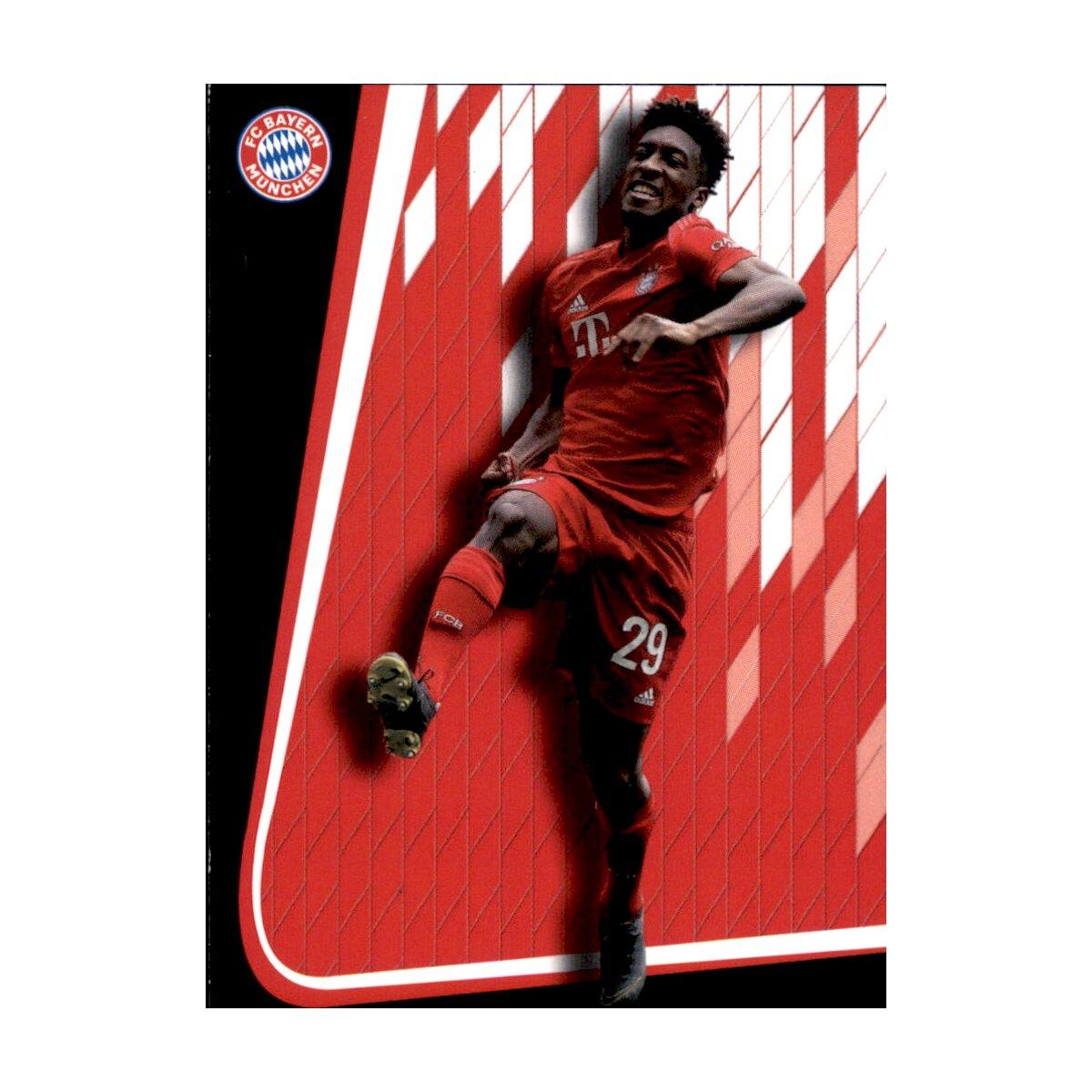 Karte 30 Panini FC Bayern München 2018//19 Jubel