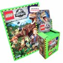 LEGO Jurassic-World - Sammelsticker - 1 Display (50...