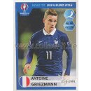 Road to EM 2016 - Sticker  108 - Antoine Griezmann